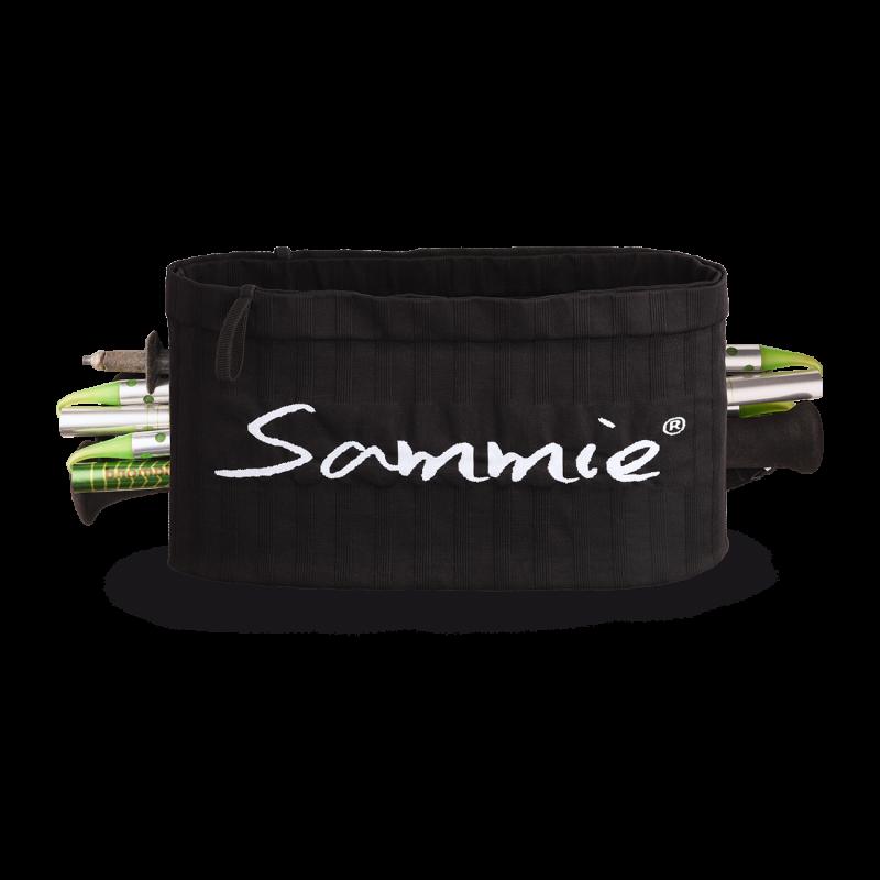 Vue de face de la ceinture de Running Sammie® Trail en noir