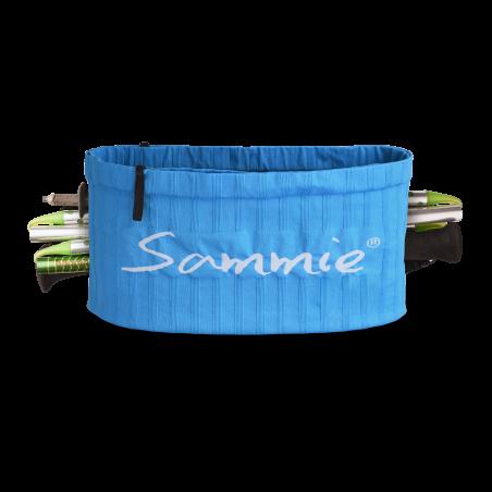 Vue de face de la ceinture de Running Sammie® Trail en bleu