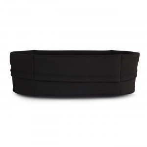 Vue de dos, la ceinture de Running Sammie® City en noir