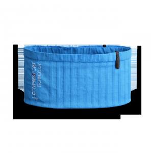 Vue de dos de la ceinture de Running Sammie® V2 en bleu