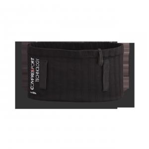 Vue de dos de la ceinture de Running Sammie® Trail en noir