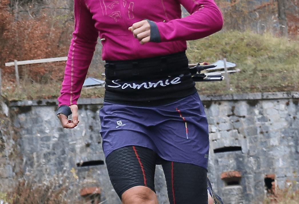 Ceinture de Running Sammie® Evo portée en compétition