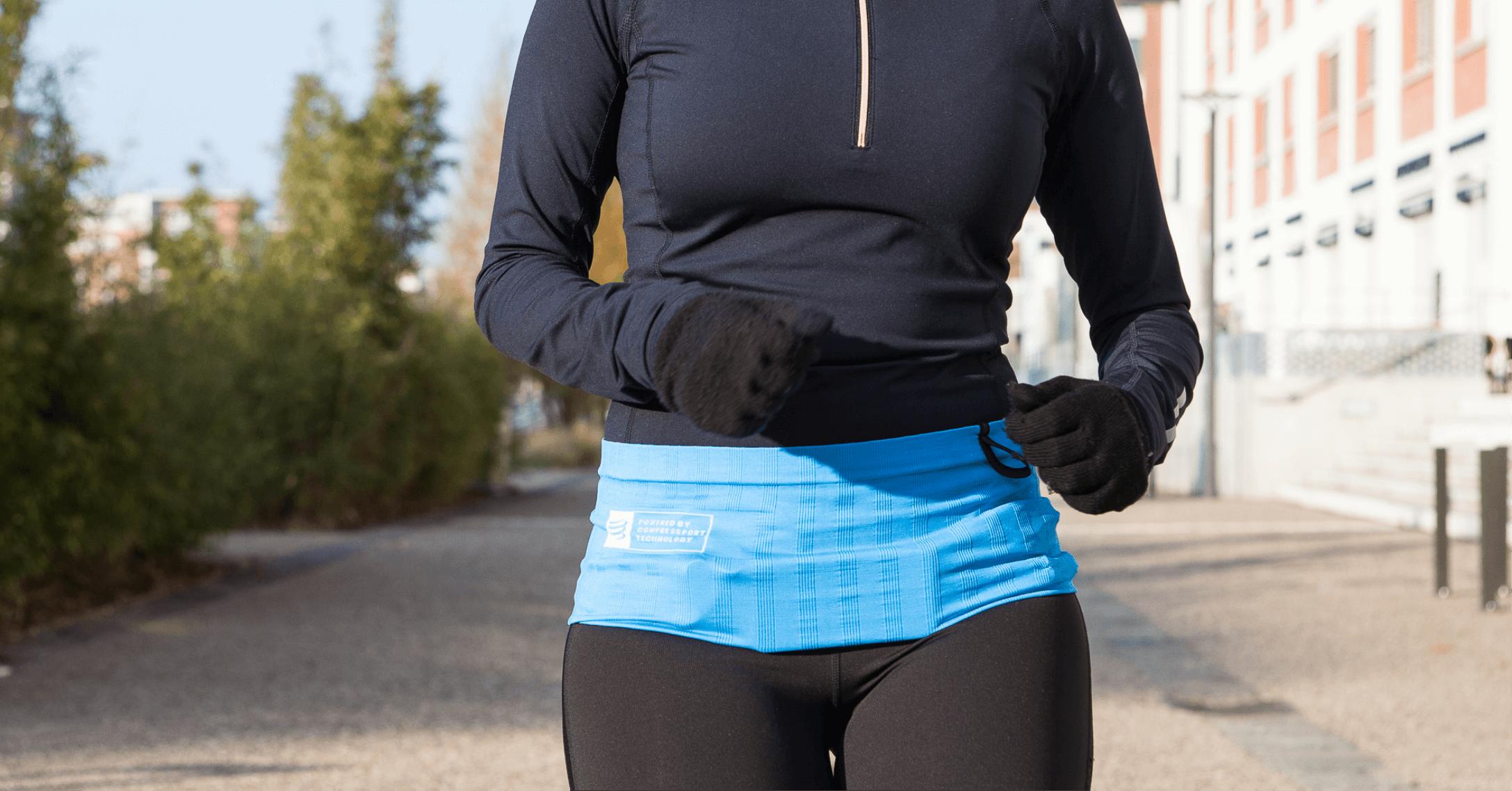 Une petite run en automne avec la running belt Sammie® Mini